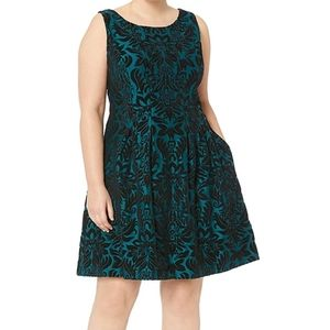 Gabby Skye scuba fit and flare dress size 18w